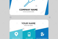 Pushpin Business Card Design Template, Visiting For Your inside Push Card Template