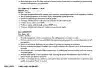 Qa Associate Resume Samples | Velvet Jobs in Gmp Audit Report Template