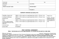 Quotation Sample – Fill Online, Printable, Fillable, Blank with regard to Pest Control Report Template