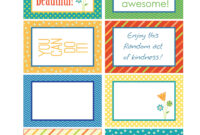 Random Act Of Kindness Printable Cards – Google Search regarding Random Acts Of Kindness Cards Templates