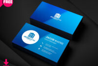 Real Estate Business Card Psd, Free Real Estate Business intended for Psd Name Card Template