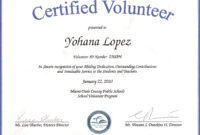 Recognition Certificate Template ] – Certificate Football with Volunteer Certificate Templates
