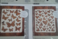 Recollections Cutting Template Butterfly 1 Piece Hearts 1 Piece within Recollections Card Template