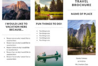 Recreation Travel Brochure Template | Lucidpress With Regard To Travel Brochure Template For Students