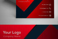 Red Modern Business Card Template | Themesmom | Modern for Advertising Cards Templates