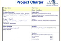 Remarkable Project Charter Template Ppt Ideas Lean Templates with regard to Team Charter Template Powerpoint