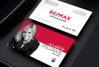 Remax Realtors, Your New Business Card Design Is Here with Office Max Business Card Template