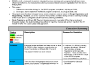 Replacethis] Business Monthly Status Report Template Example with Project Monthly Status Report Template