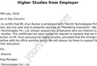 Request Latter Of Noc Format For Higher Studies From Employer with regard to Noc Report Template
