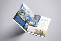 Residential Real Estate Half Fold Brochure Template for Half Page Brochure Template