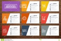 Restaurant Business Card Template Stock Vector for Food Business Cards Templates Free