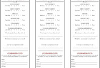 Restaurant Comment Card – Google Search | Restaurant, Cards intended for Restaurant Comment Card Template