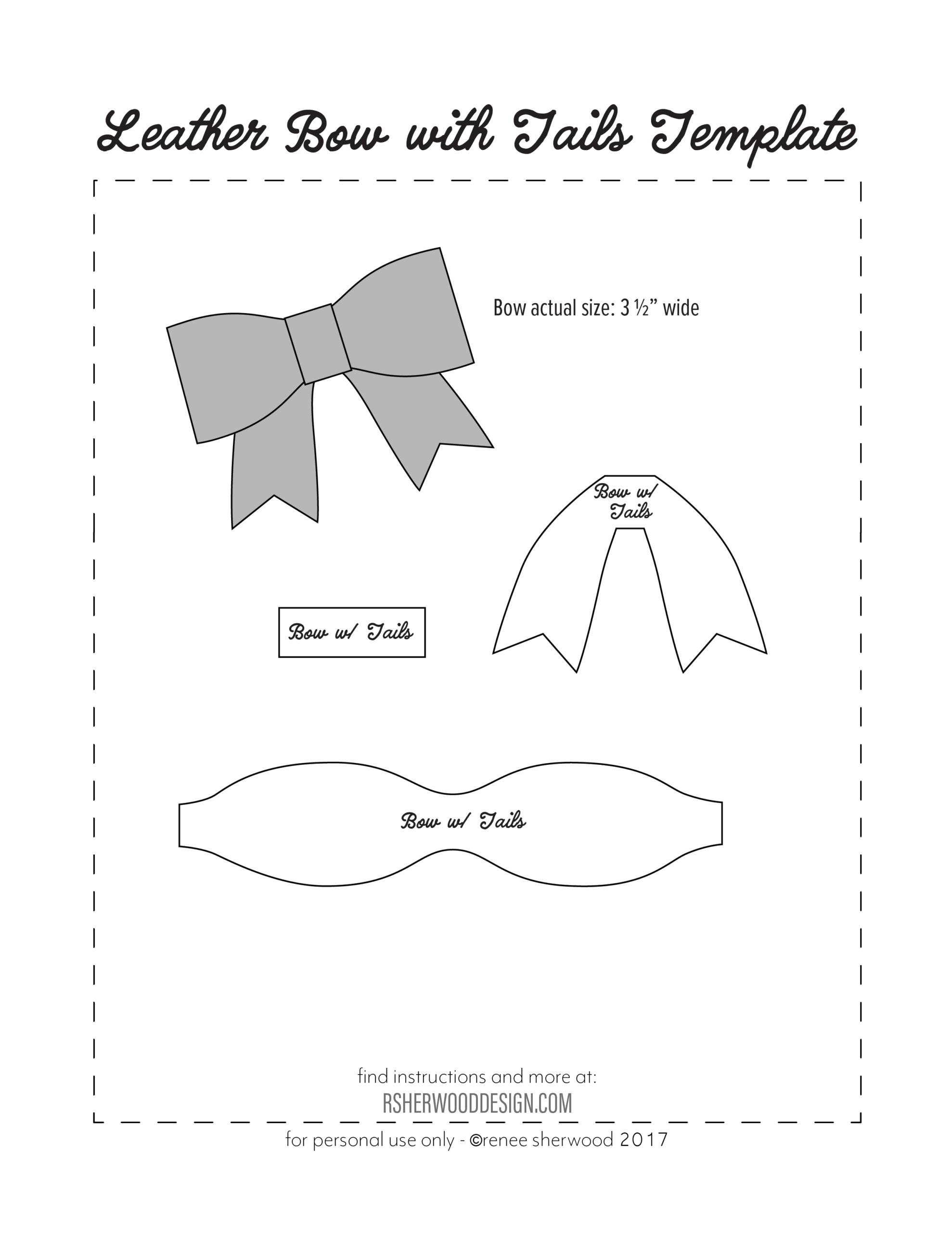 Resultado De Imagen Para Free Hair Bow Card Holder Template In Headband Card Template