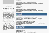 Resume Templates Word 2010 New 4 5 Professional Resume within Resume Templates Microsoft Word 2010
