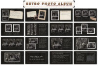Retro Photo Album Ppt Templateblixa 6 Studios On with Powerpoint Photo Album Template