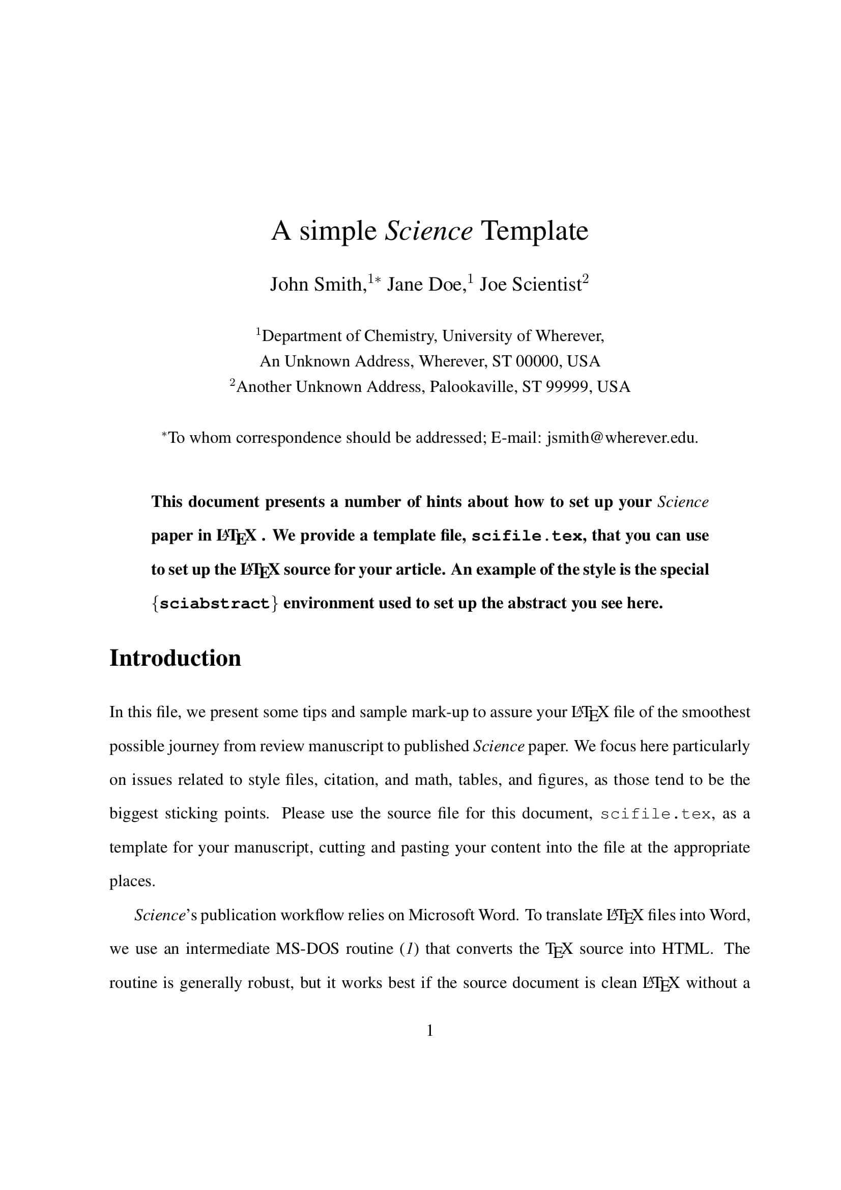 Review Paper Template - Forza.mbiconsultingltd With Scientific Paper Template Word 2010