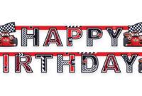 Roary The Racing Car Happy Birthday Banner | Happy Birthday in Cars Birthday Banner Template
