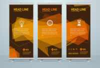 Roll Up Banner Stand Design Template Pertaining To Pop Up Banner Design Template