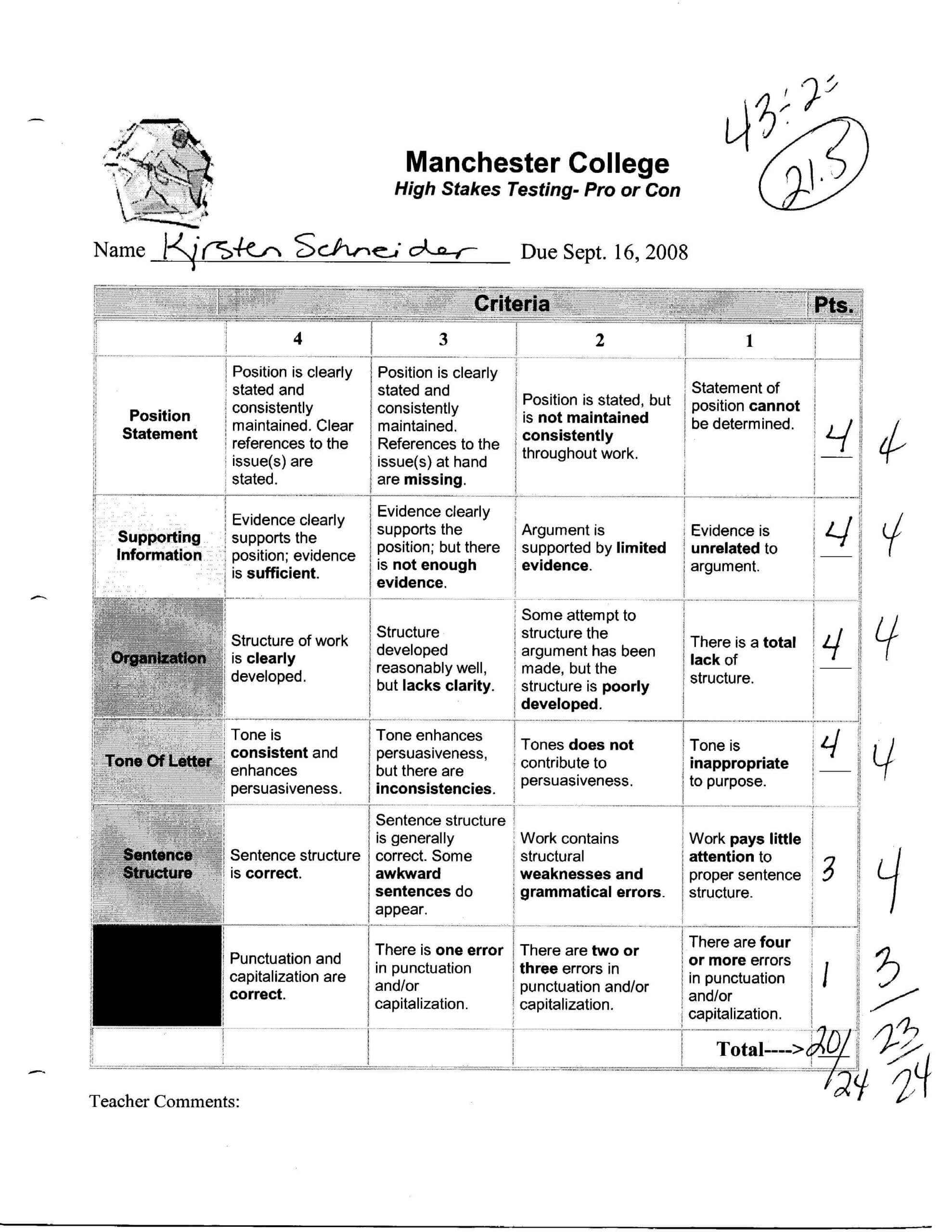 Rubric For Branches Of Science Brochure – Google Search Intended For Brochure Rubric Template