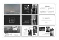 Sabee Powerpoint Template Free Download – Just Free Slides for Powerpoint Photo Slideshow Template