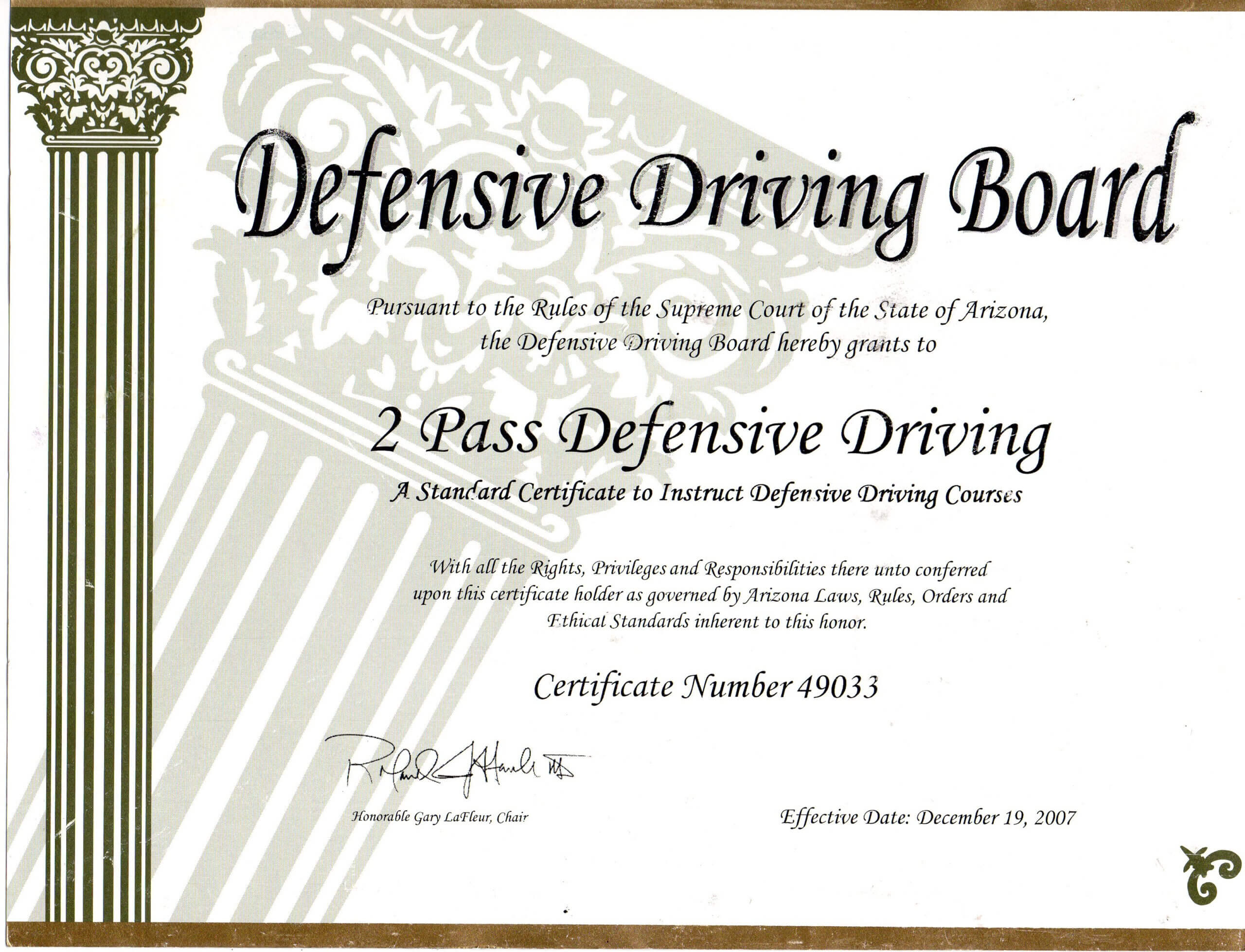 Safe Driving Certificate Template ] - Some Appreciation With Safe Driving Certificate Template