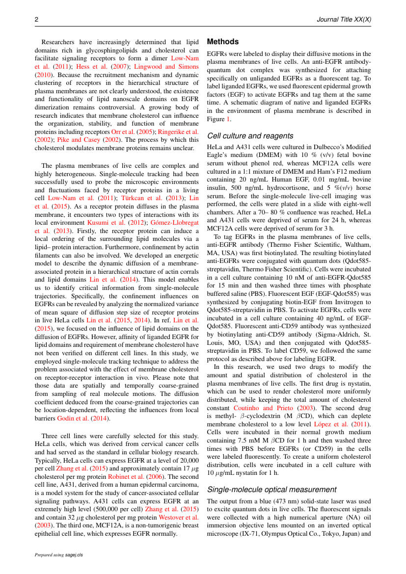 Sage - Sage Open Template For Journal Paper Template Word