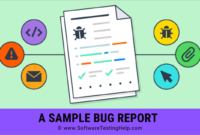 Sample Bug Report. How To Write Ideal Bug Report in Software Problem Report Template