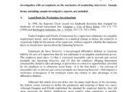 Sample Investigation Report Template – Ironi.celikdemirsan with regard to How To Write A Work Report Template