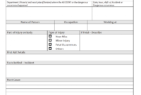 Sample Monthly Health And Safety Report Format Annual intended for Monthly Health And Safety Report Template
