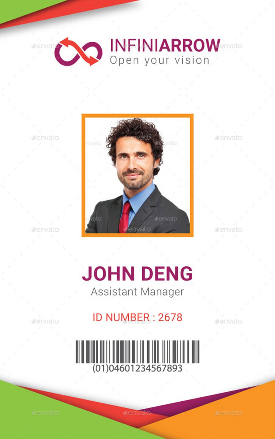 Sample Of Id Card Template - Zimer.bwong.co In Sample Of Id Card Template