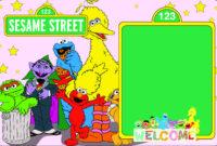 Sample Printable Sesame Street Party intended for Sesame Street Banner Template