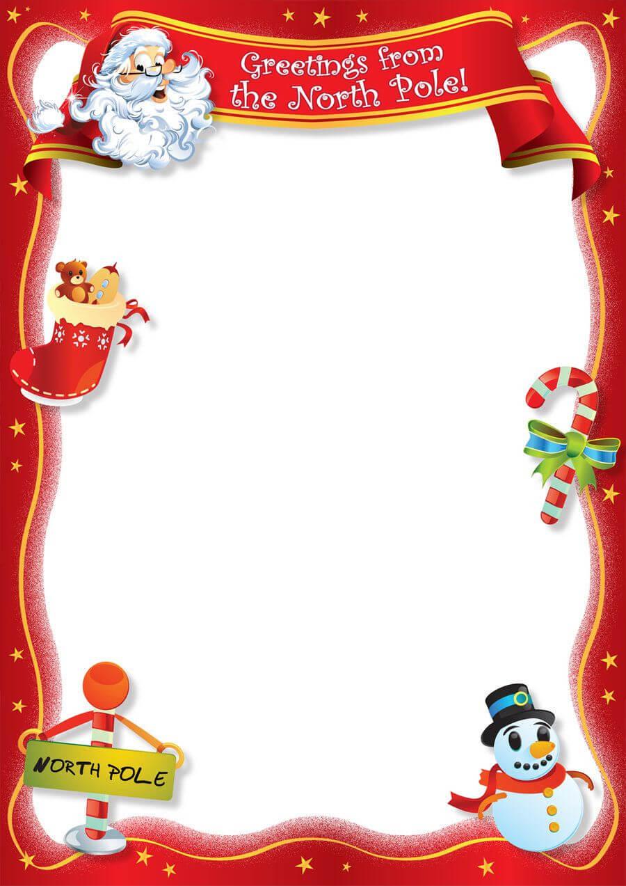 Santa Blank Lettersangrafix | Christmas Card Template In Blank Christmas Card Templates Free