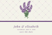 Save The Date | Banner Template in Save The Date Banner Template