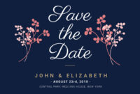 Save The Date – Banner Template intended for Save The Date Banner Template