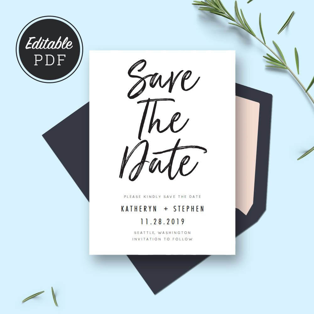 Save The Date Card Templates, Wedding Save The Dates Inside Save The Date Cards Templates