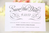 Save The Date Cards Templates For Weddings | E Card inside Save The Date Cards Templates