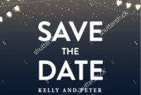 Save The Date Holiday Party Templates Free – Shev Intended For Save The Date Templates Word