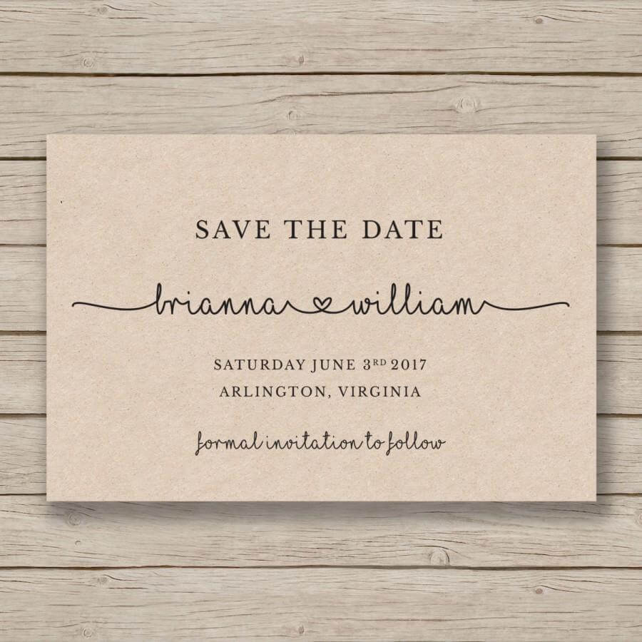 Save The Date Printable Template - Editableyou In Word With Regard To Save The Date Templates Word