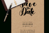 Save The Date Templates For Word [100% Free Download] With Regard To Save The Date Templates Word