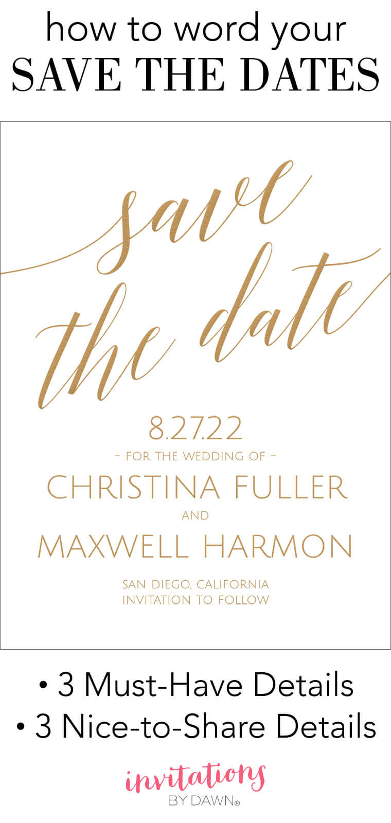 Save The Date Wording | Invitationsdawn Intended For Save The Date Template Word