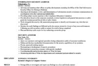 Security Auditor Resume Samples | Velvet Jobs within Pci Dss Gap Analysis Report Template