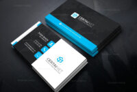 Security Company Corporate Business Card Template 000925 within Company Business Cards Templates