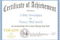 Service Dog Certificate Template ] – Service Dog Certificate within Service Dog Certificate Template