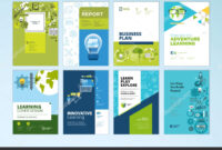 Set Brochure Design Templates Subject Education School in School Brochure Design Templates