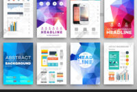 Set Flyer, Brochure Vector & Photo (Free Trial) | Bigstock Throughout Online Free Brochure Design Templates