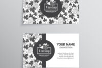 Set Of Business Cards Templates For Wine Company pertaining to Advertising Cards Templates