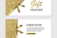 Set Of Gift Voucher Card Template Advertising Or with Advertising Card Template