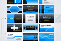 Set Of Modern Business Cards Templates. Futuristic Techno with Advertising Cards Templates