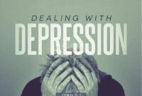 Sharefaith: Church Websites, Church Graphics, Sunday School with Depression Powerpoint Template