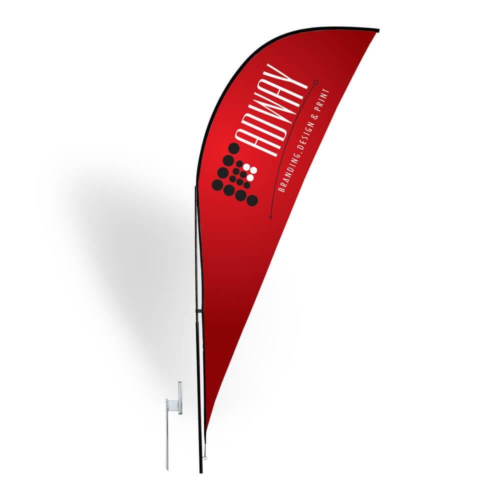 Sharkfin Flag – :: Adway :: In Sharkfin Banner Template